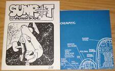 Sunpot #1 VF/NM (1st) print + blueprints VAUGHN BODE underground comix stellar