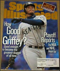 5/17/1999 Sports Illustrated Ken Griffey Jr. Seattle Mariners Steve Yzerman NBA