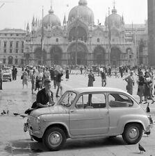 """Photographie,  """"Fiat 600"""",  Venise, 1954      /     15 x 15"""