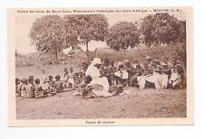 AFRIQUE scenes types ethnies missions  Ethnics Une leçon de couture