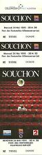 RARE / TICKET DE CONCERT - ALAIN SOUCHON A VILLENEUVE SUR LOT 1995 / COMME NEUF