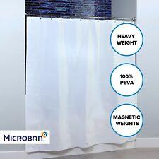 "White Mildew Resistant Heavyweight PEVA Shower Curtain Liner (70"" x 72"", 8G)"