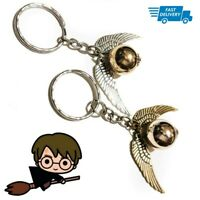 Harry Potter GOLDEN SNITCH Keyring Cute Keychain Wings Ball Small Gift Character