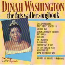 The Fats Waller Songbook by Dinah Washington (CD, Apr-1985, Emarcy (USA) (BOX C3