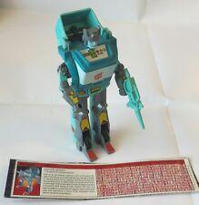 KUP; 1986 Hasbro; G1 Vintage Transformers; COMPLETE w/ tech spec