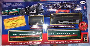Eztec North Pole Express Battery Operated Train Set 29 pieces Sound & Light