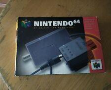 Nintendo 64 N64 RF Switch/ RF Modulator with box original authentic