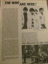 The Who, Full Page Vintage Clipping