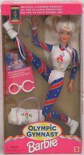 Olympic Games Gymnast Barbie Doll Mattel Vintage 1995 15123 NRFB (Non-Mint Box)