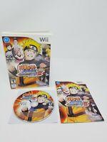Naruto Shippuden: Clash of Ninja Revolution III Nintendo Wii, 2009 Complete CIB