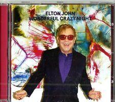 ELTON JOHN WONDERFUL CRAZY NIGHT CD NUOVO SIGILLATO !!
