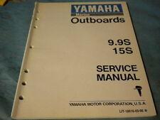 OEM '94 Yamaha Outboard 9.9S 9 9 SY 15S 15 S Marine Service Manual