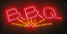 Animated Motion Led Restaurant Bbq Club Cafe Sign +On/off Switch Open Light Neon