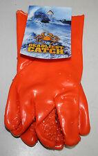Deadliest Catch PVC Textured Fishing Gloves