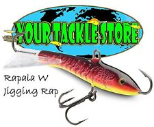 Rapala W9 Jigging Rap You Pick Colors & Quantity