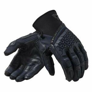 REV'IT! Caliber Mens Gloves Dark Blue LARGE
