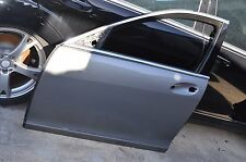 07-13 W221 MERCEDES S550 S600 S63 FRONT LEFT DRIVER DOOR SHELL GREY