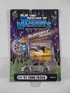 Muscle Machines 1/64 Import Tuner '01 Ford FR200 T02-02