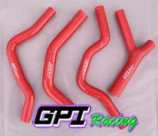 Silicone radiator coolant hose Honda CR500 CR500R 1985-1988 86 87 88 RED