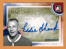 2012-13 , ITG , IN THE GAME , EDDIE SHACK , FOREVER RIVALS , AUTO