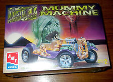 EXPERTLY PACKED AMT/ERTL 1:25 MUMMY MACHINE Monster Rods Glow Hot Rod*