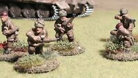 28mm British Airborne Rifle Section ( Metal figures) comprising 10 figures #D