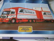 Super Trucks Frontlenler Schweden Volvo F10 Intercooler 1989