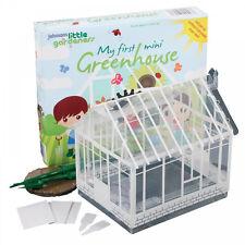 Johnsons Seeds Little Gardeners My First Mini Greenhouse children's gift