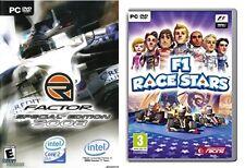 R Factor Sonderedition 2008 & f1 Race Stars Neu & Versiegelt