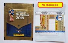 PANINI FIFA WORLD CUP RUSSIA 2018 - international VERSION PACKET NO BARCODE