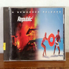 A New Order Release Republic by Stephen Hague CD Qwest Records Playgraded