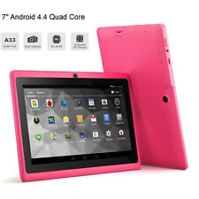 7'' inch Google Android 4.4 WiFi Tablet PC Quad Core 8GB Dual Camera Kids Child