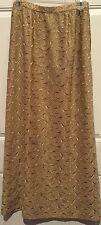 """VTG 1950""""s Franco Bertoli France Milan Rome couture Long Gold Hostess Shirt"""