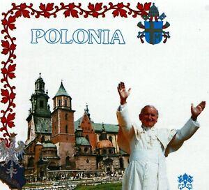 Poland Polonia Polska Trip / Travel Pope John Paul II Vatican Envelope PA638