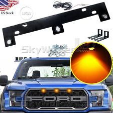 1.3ft Yellow Pickup Truck Front Grill LED Light For Ford F-150/Raptor 2010-2014