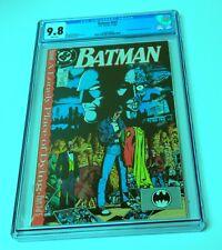 Batman 441 CGC 9.8 DC Comics 11/89 Continued from The New Titans #60
