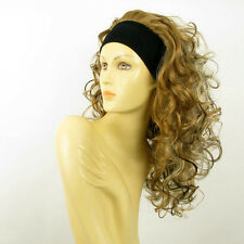 headband wig long curly blond clear light copper wick and choco  ODESSA 15613H4