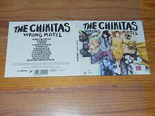 The chikitas-Wrong Motel/Digipack-cd 2016 MINT -