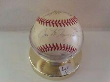 1950 MLB All Star Team AL auto. baseball (J. DiMaggio, Rizzuto, Stengel, & more)