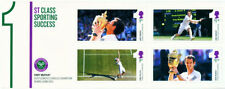 1st CLASS SPORTING SUCCESS Andy Murray Royal Mail Minisheet