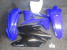 Yamaha YZF250 YZF450 2014-2017 X-FUN All blue/black complete plastic kit PK5015