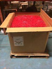 740 Pounds Hot Melt Glue Sticks Red 7/16 inch x 4 inch Wholesale Lot in Bulk