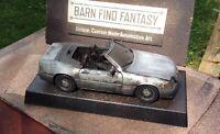 Barn Find 1989 Mercedes 500SL model, Custom Made1:18 wreck restoration project.