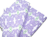 Pottery Barn Kids Purple Green Spring Butterfly Cotton Twin Duvet Cover New