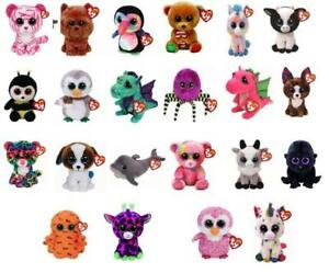 Ty Beanie Boos 6 inch 15 cm Plush Soft Toys Choose from a selection New with Tag
