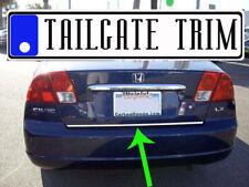 Honda CIVIC 2001 2002 2003 2004 2005 Chrome Tailgate Trunk Trim Molding