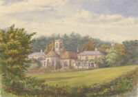 Fine Early 20th Century Watercolour - The Wilderness, Suffolk