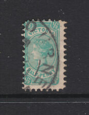 Victoria: 1/2d Qv No Postage At Base Used
