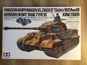 TAMIYA NEW! RC  Heavy Tank Type VI King Tiger 1/16 scale 56004 w/Speed control !