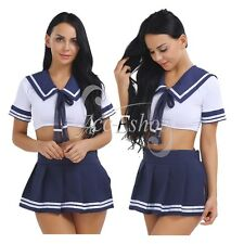 Women's Lingerie Naughty School Girl Cosplay Uniform Role Play Costume Clothes